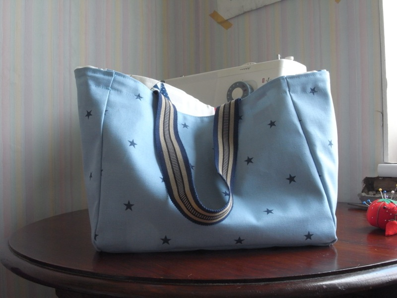 Amanda's bag.