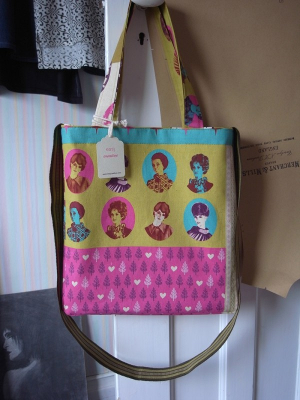 A very colourful bag. Went to a good home.