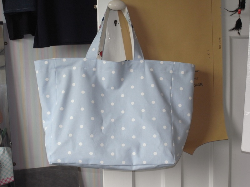 Beach bag No2. I made another 2 like this, all similar. None exactly the same