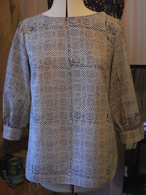 Front with sleeves