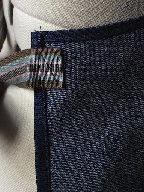 Waist tie attachment.