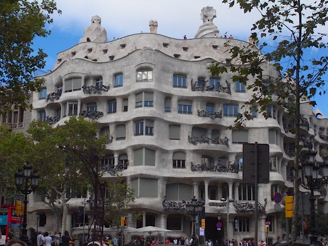 Visited it on our second to last day, as thought we ought to some thing of Gaudi's.