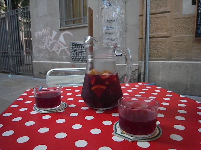Some of the yummiest Sangria I've ever had!